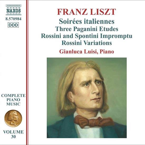 LISZT, F.: Soirees italiennes