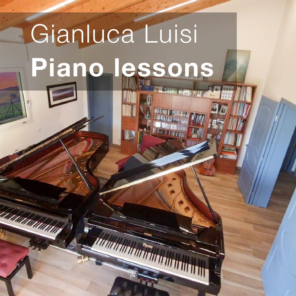 Lezioni singole pianoforte Gianluca Luisi